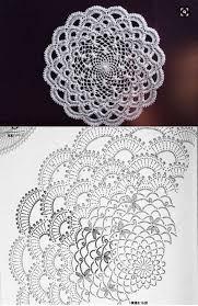 Best 11 Crochet Doily Chart Pattern Skillofking Com