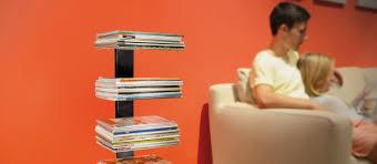 ... Simple And Neat Home Interior Decoration With Magazine Shelf Storage  Design : Magnificent Home Interior Decoration ...