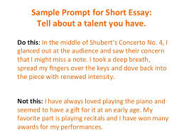 Short College Essay How To Write A Short Essay For A College Application