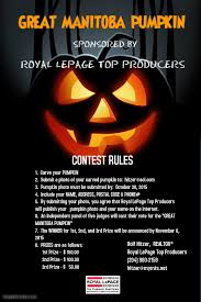 pumpkin carving contest flyer great manitoba pumpkin carving contest north kildonan real estate