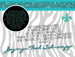 Free Thank You Card For Graduation Templates Anouk Invitations
