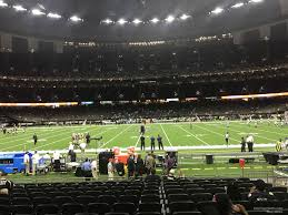 Superdome Seating Chart With Row Numbers Superdome Section 115 New Orleans Saints Rateyourseats Com
