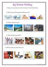 my dream summer vacation essay