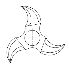 Fidget Spinner Coloring Pages To Print Batman Fidget Spinner