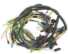 comet dash new main dash wiring harness 1963 mercury comet 6 or 8 cyl engine