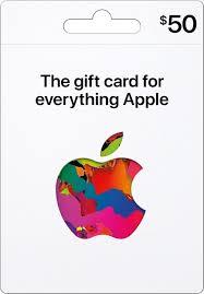 apple 50 itunes gift card
