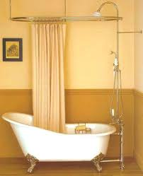 clawfoot bath tub shower home stunning shower rod modern tub intended for best ideas on tubs