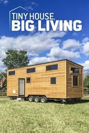 tiny house big living poster