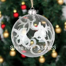 Decorating Glass Christmas Balls Dia100cm factory wholesale Exquisite Christmas decorations glass 2