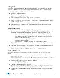 Personal Essay For College Admission College Application Personal Statement Essay Examples Example Of