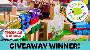 thomas train giveaway winner thomas and friends with brio and kidkraft toy trains 4 kids