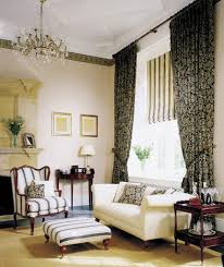 Patterned Living Room Chairs 53 Living Rooms With Curtains And Drapes Eclectic Variety