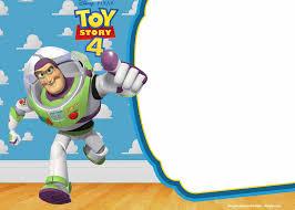 Free Printable Toy Story 4 Buzz Lightyear Invitation