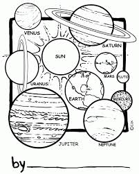 Solar System Coloring Pages To Print | Kinder knutsels | Pinterest ...