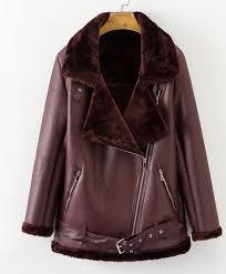 details about womens suede coat aviator leather jacket winter coat fur liner jacket coat