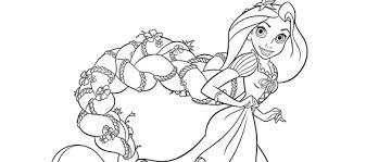Rapunzel Kleurplaat Kleurplaatploofr