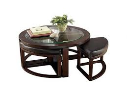 Marion Cocktail Table w Stools Ashley Furniture