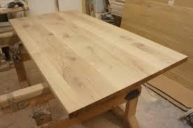 Tischplatte Arbeitsplatte Massivholzplatte Esstisch Eiche