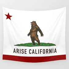 california flag wall tapestry by