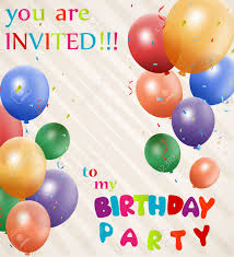 Party Invitation Background Image Birthday Invitation Background Royalty Free Cliparts Vectors And