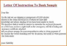 Letter Of Instruction Template Peoplewho Us