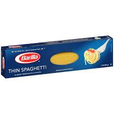 barilla thin spaghetti pasta