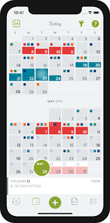 Clue Period Ovulation Tracker With Ovulation Calendar For