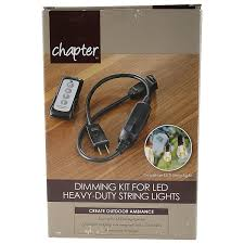 Chapter 12 Ft Led Heavy Duty String Lights Dimming Kit For Led Heavy Duty String Lights Walmart Com