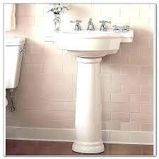 american standard pedestal sink retrospect mounting kit
