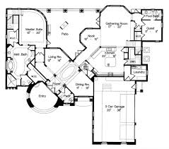 house plan 64666 at familyhomeplans com Italian House Designs Plans italian house plan 64666 level one italian house designs plans