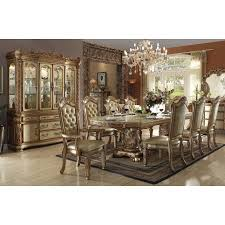 vendome dining room set gold patina