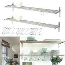 stainless steel shelves ikea set of 2 kitchen k47