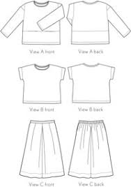 Culottes Pattern Impressive Lunch Box Tee Culottes Shop Oliver S
