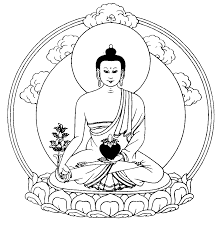 Drawing Lord Buddha The Buddha Of Healing Or Medicine Buddha