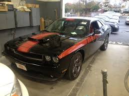 dodge challenger white and red. dodge challenger with red stripes full white and