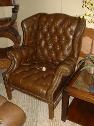 Leather Wingback Chair For Sale Chair Pair Of Ethan Allen Wingback Chairs Ebth Chair Cs1 Ethan