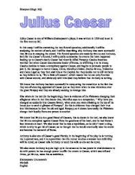 julius caesar gcse english marked by teachers com  william shakespeare · julius caesar page 1 zoom in