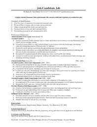 Insurance Resume Objective Examples Examples Of Resumes