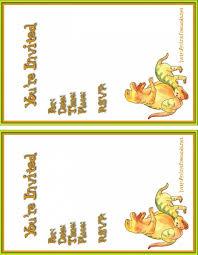 printable kid birthday cards birthdays invitation free printable dinosaurs themed kids birthday