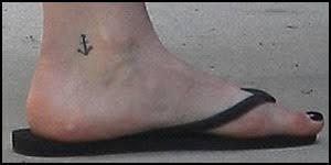 Tetování Hilary Duff