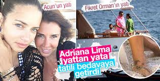 Adriana Lima Sami Khedira ile tatilde