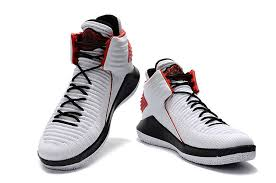 jordan 32 shoes. 2017 air jordan 32 white black varsity red basketball shoes for sale-3 0