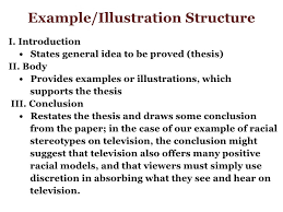 illustration essay thesis the illustrative essay exposing the examples easy literacy example