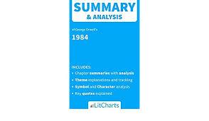 Amazon Com Summary Analysis Of 1984 By George Orwell