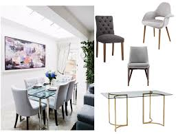 I have the West Elm Carraway Dining Table. I'm unsure what chairs to buy to  coordinate with it. I'm | Decorist