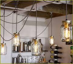 jam jar pendant lights