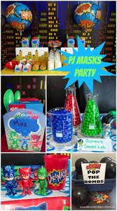 Pj Mask Party Decoration Ideas PJ Masks Party Ideas and Printables Moms Munchkins 43