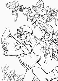 Small Picture Ash And His Pokemon Coloring Pages GetColoringPagescom