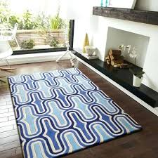 blue and white area rugs contemporary modern soft 2 tone blue indoor area rug 5 x blue and white area rugs