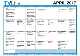 april calendar tv schedule april 2017 premiere and finale calendar tvline